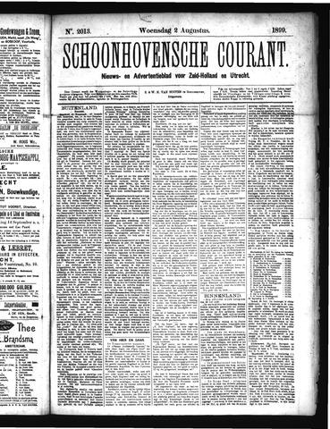 Schoonhovensche Courant 1899-08-02