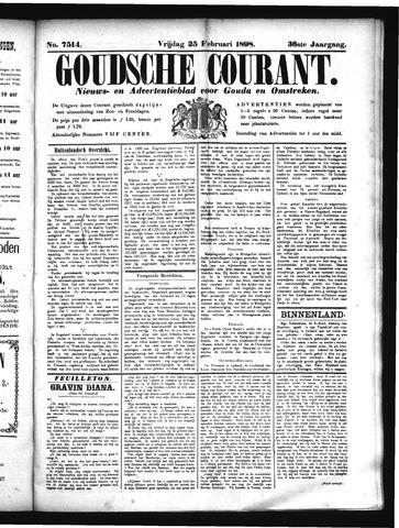 Goudsche Courant 1898-02-25