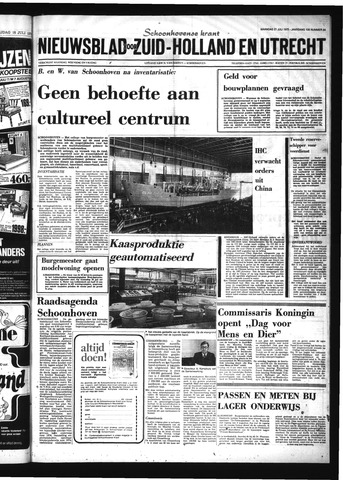 Schoonhovensche Courant 1975-07-21