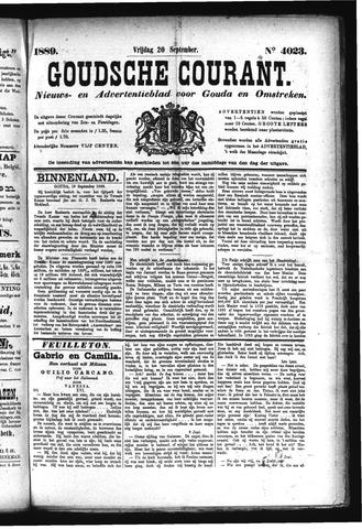 Goudsche Courant 1889-09-20