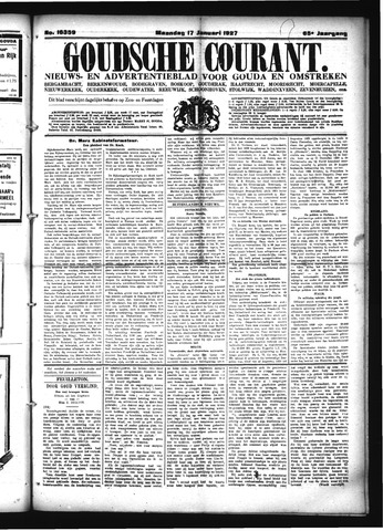 Goudsche Courant 1927-01-17