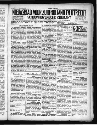 Schoonhovensche Courant 1938-04-06