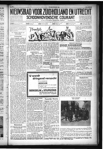 Schoonhovensche Courant 1932-03-25