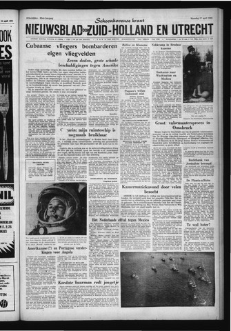 Schoonhovensche Courant 1961-04-17