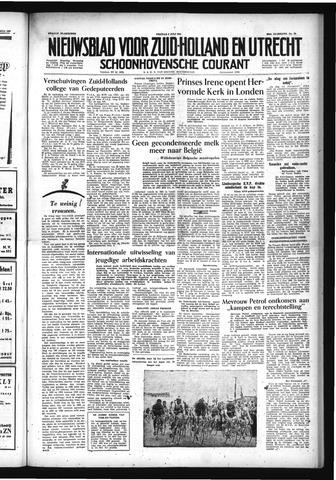 Schoonhovensche Courant 1954-07-09