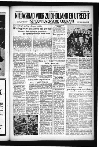 Schoonhovensche Courant 1957-07-15