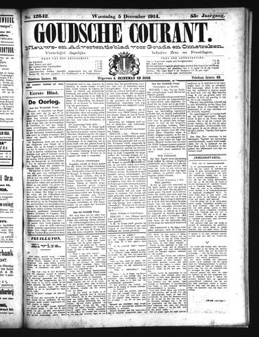 Goudsche Courant 1914-12-05