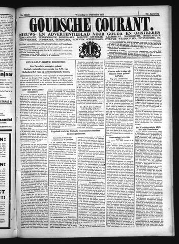 Goudsche Courant 1939-09-27