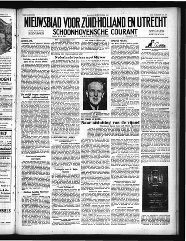 Schoonhovensche Courant 1950-09-25
