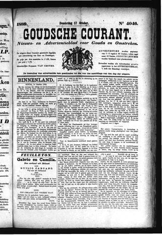 Goudsche Courant 1889-10-17