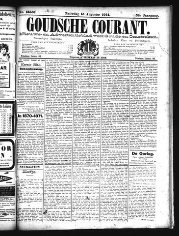 Goudsche Courant 1914-08-15