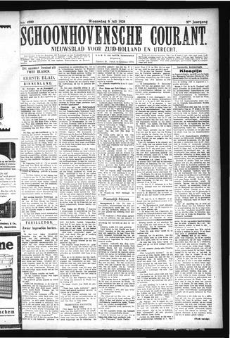 Schoonhovensche Courant 1925-07-08