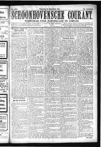 Schoonhovensche Courant 1924-12-29