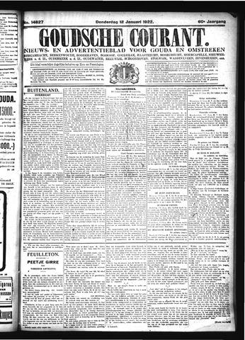 Goudsche Courant 1922-01-12