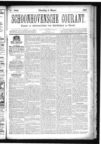 Schoonhovensche Courant 1917-03-06
