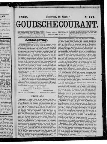 Goudsche Courant 1869-03-18