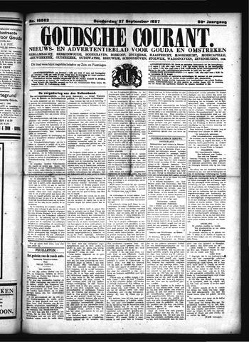 Goudsche Courant 1927-09-27