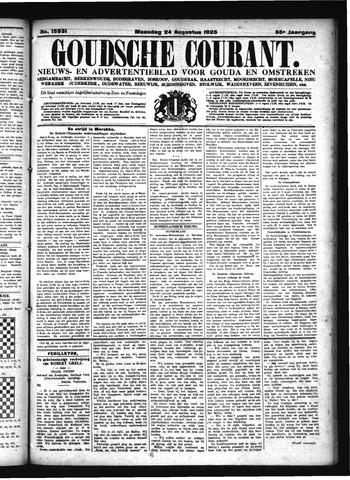 Goudsche Courant 1925-08-24