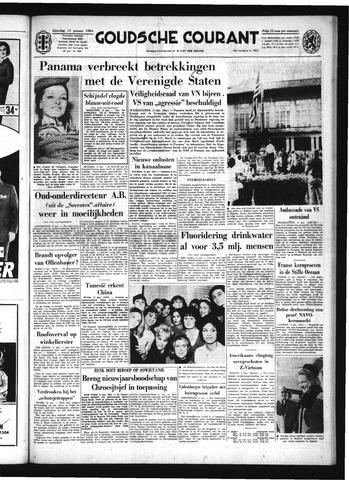 Goudsche Courant 1964-01-11