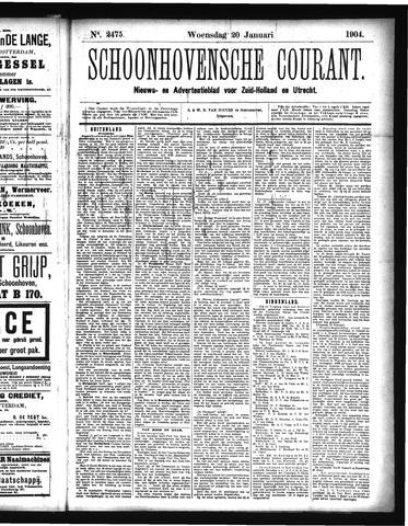 Schoonhovensche Courant 1904-01-20