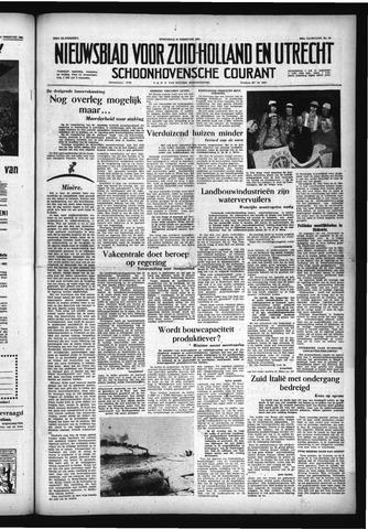 Schoonhovensche Courant 1956-02-29