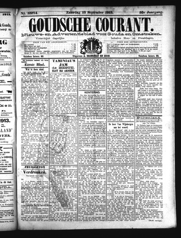 Goudsche Courant 1913-09-13