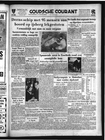 Goudsche Courant 1959-01-31