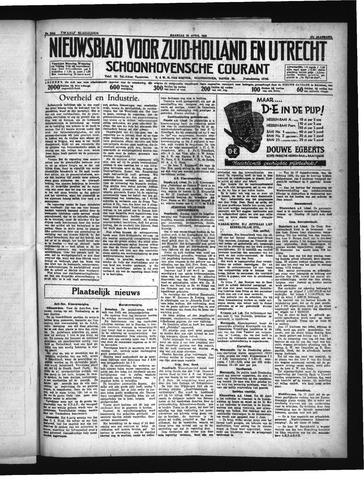 Schoonhovensche Courant 1935-04-15