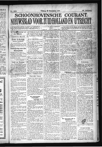 Schoonhovensche Courant 1927-12-30