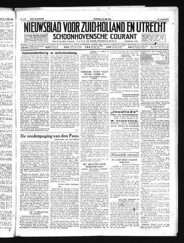 Schoonhovensche Courant 1939-05-10