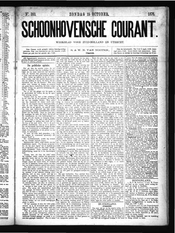 Schoonhovensche Courant 1876-10-15