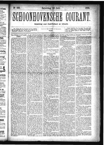 Schoonhovensche Courant 1888-07-28