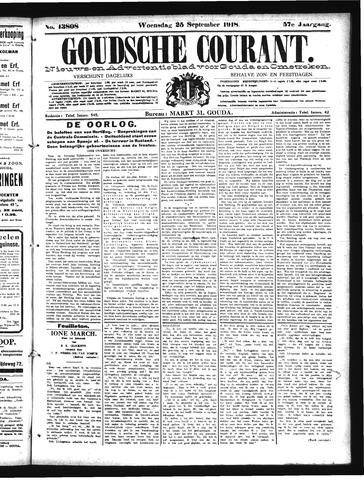 Goudsche Courant 1918-09-25