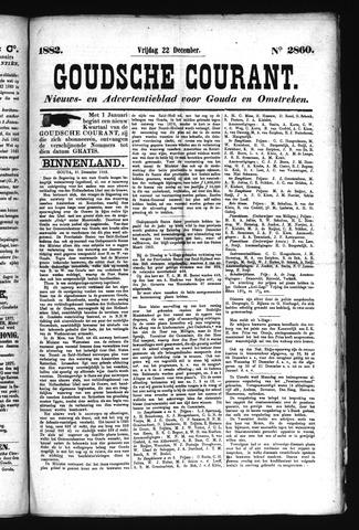 Goudsche Courant 1882-12-22
