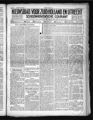 Schoonhovensche Courant 1938-04-22