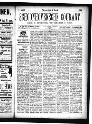Schoonhovensche Courant 1914-06-03