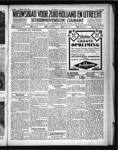 Schoonhovensche Courant 1936-07-15