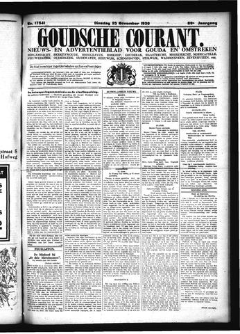 Goudsche Courant 1930-11-25