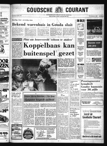 Goudsche Courant 1979-10-25