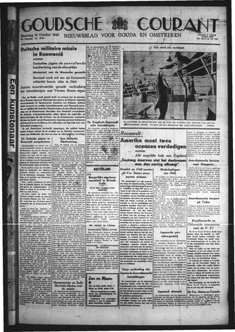 Goudsche Courant 1940-10-14