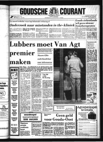 Goudsche Courant 1981-08-26