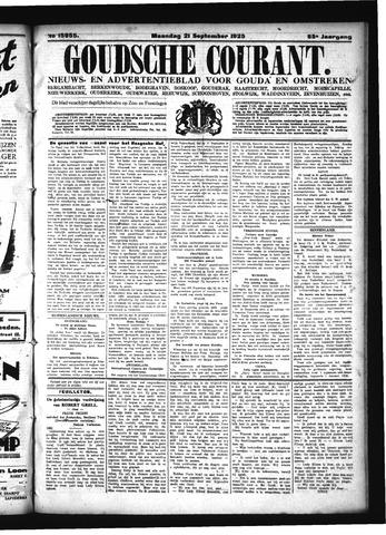 Goudsche Courant 1925-09-21