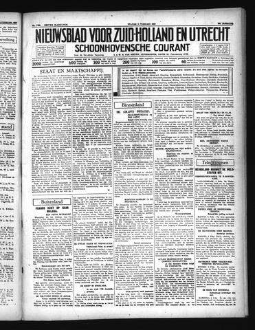 Schoonhovensche Courant 1937-02-05