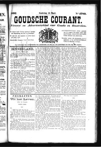 Goudsche Courant 1892-03-10