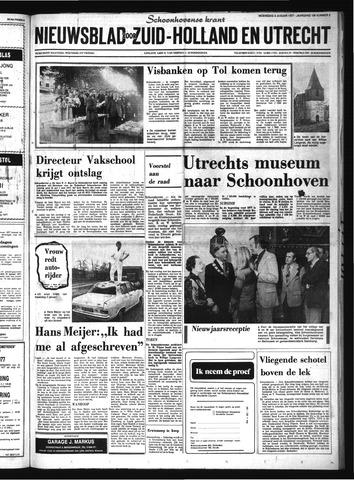 Schoonhovensche Courant 1977-01-05