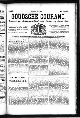 Goudsche Courant 1892-06-27