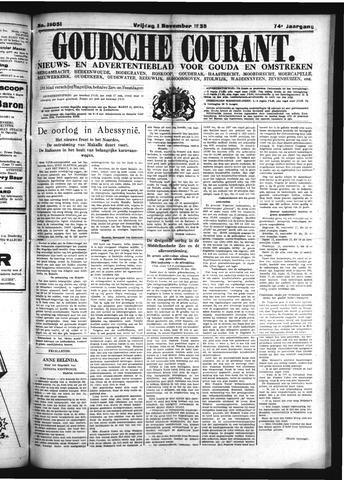 Goudsche Courant 1935-11-01