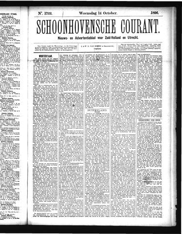 Schoonhovensche Courant 1896-10-14
