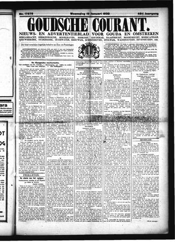 Goudsche Courant 1930-01-15