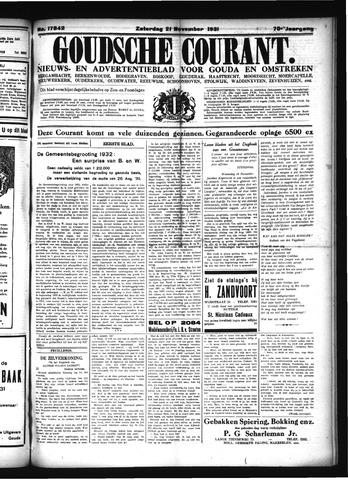 Goudsche Courant 1931-11-21
